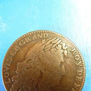 1863 Louis X1111 Le Grand Military Jeton