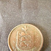 Guernesey One Double Coin1830