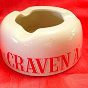 CRAVEN A Cigarettes Advertising Ashtray