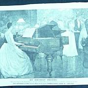 JOHN BRIMSMEAD & SONS - Original Full Page Advert Illustrated London News 1890