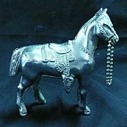 Silvered Show Horse Circa 1950-1960