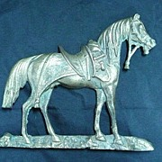 Brass Horse Door-Stop or Wall Hanger