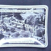 The Selsdon Park Hotel, Surrey, England, Advertising Ashtray