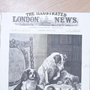 "Front Page Illustrated London News  1892 ""The Humming Top"""