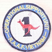 VIETNAM WAR - Rare Australian RAAF Operations Support Patch