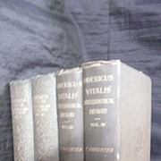 History of England & Normandy - Odericus Vitalis 4 Vol's 1853-1856