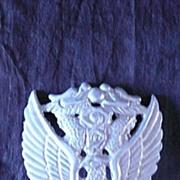 VIETNAM War - RARE South Vietnam Air Force - VNAF- Officers Cap Badge