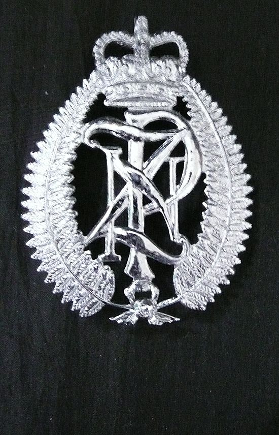 Vintage New Zealand Police Hat Badge