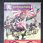 Six  1960's Small Format  English War Comics