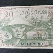 Vietnam - French Indochine - 20 CENTS  1939 Bank Note