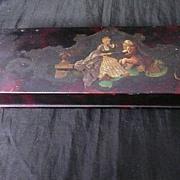 Victorian Papier Mache Jewelry Box