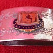 MV KANIMBLA Souvenir Napkin Ring