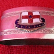 S.S. TAIPING Souvenir Napkin Ring
