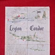 Genuine Spanish Civil War  Propaganda Poster - Condor Legion Coupon Rations Sheet