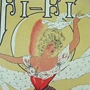 Edwardian Sheet Music 'Fi - Fi' 1904