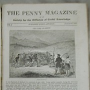 The Penny A Bound Volume of The Penny Magazine of The Society for the Diffusion of Useful Knowledge - 1835