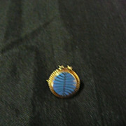 PAN AM 10 Year Staff Service Lapel Pin Circa 1970's