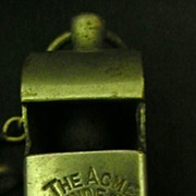 M.D.R  (The Metropolitan District Railway) GUARDS Whistle