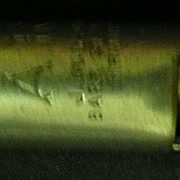 A WW2. A.R.P. (Air Raid Precautions) Warden's Whistle