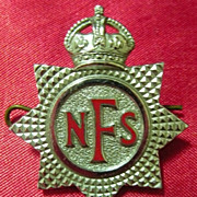 WWII National Fire Service Badge