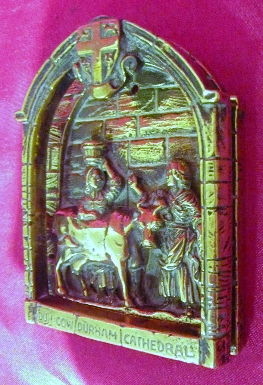 Old Durham Cathedral Brass Door Knocker Circa 1900