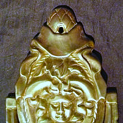 SOLD Early Brass Door Knocker Circa 1900