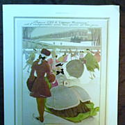 SALE ORIGINAL Cognac HENNESSY Advert  From L ' Illustration French Magazine December 1938