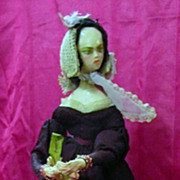 English Victorian Wax Doll Circa 1836