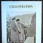 "SALE ORIGINAL Feature Page  "" GOERING & MUSSOLINI"" "" From L ' Illustration Fren"