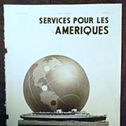 "SALE ORIGINAL ""ITALIA Societe de Navigation"" Advert From L ' Illustration French Mag"