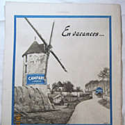 "SALE ORIGINAL ""CAMPARI"" Advert From  L ' Illustration French Magazine  July 1938"