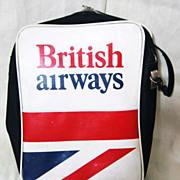 BRITISH Airways Vintage Cabin Bag