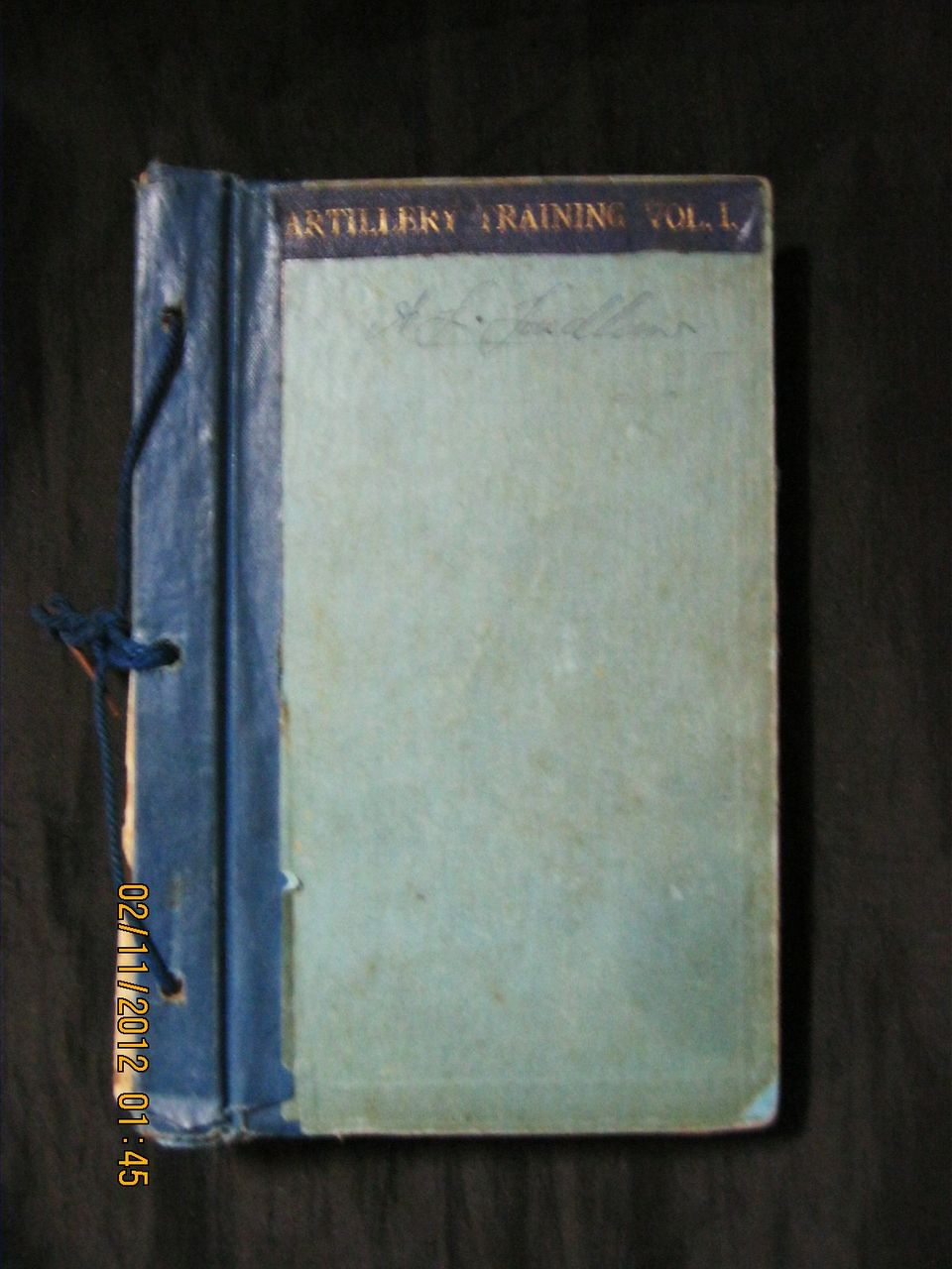 WWII ARTILLERY Training Manuals Volume One - 7 Pamphlets Total