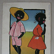 "Early  Valentines ""Coon Series"" Black Americana Negro Postcard"