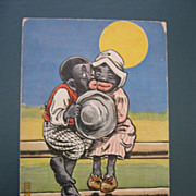 "Black American Postcard "" Linga Longa Lu"""