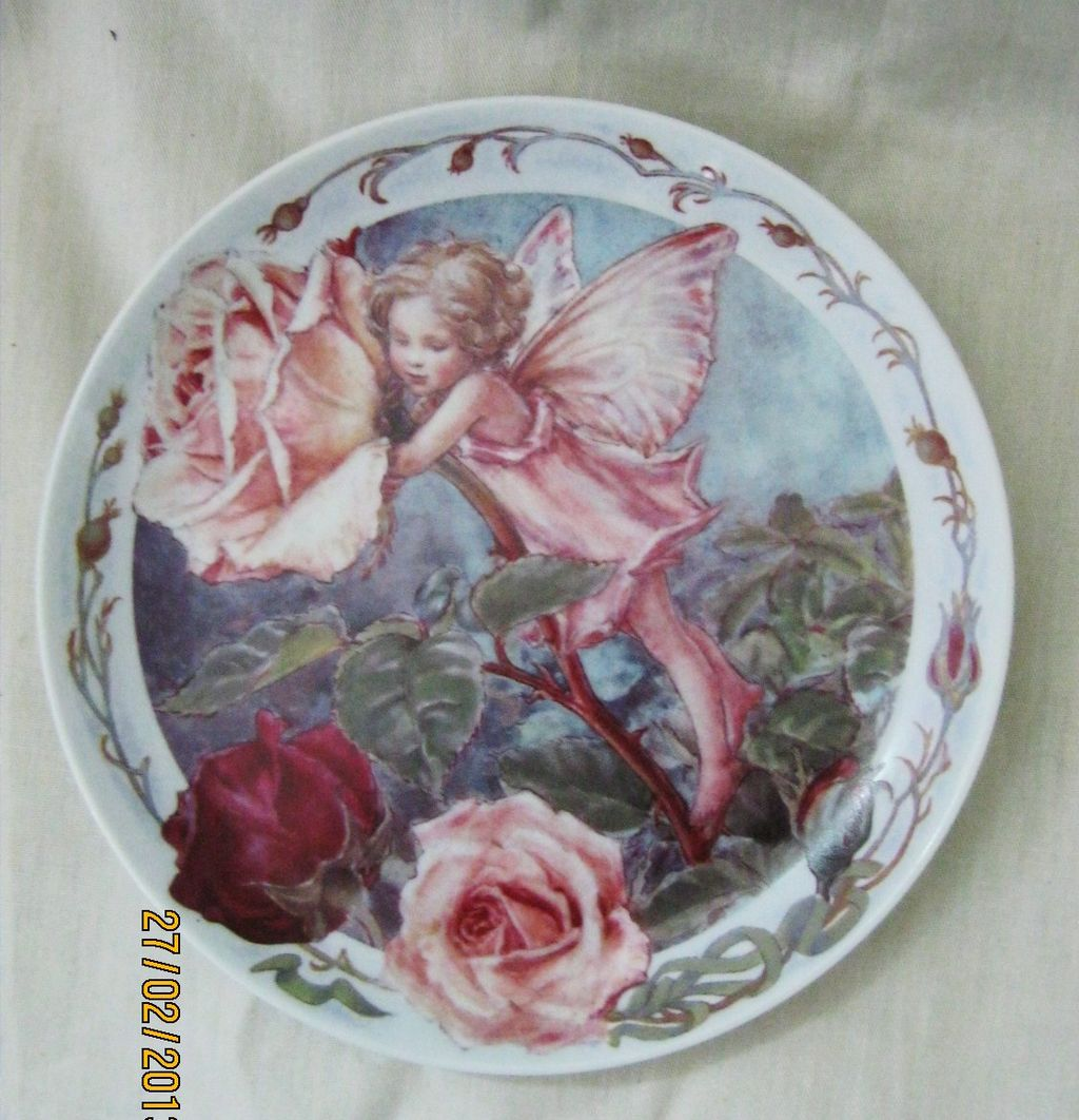 Rose Fairy by Windsor Fine China - Limited Edition Plate 1998