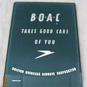 BOAC Pocket Mirror