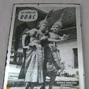 BOAC Pocket Mirror -Thailand Picture