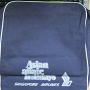 SOLD Singapore Airlines 'Asia Pacific' Cabin Bag