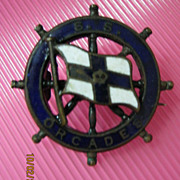 S.S. Orcades Orient Line Brooch