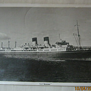 USSCo -Liner T.SS. Monowai  - Postcard