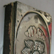 1905 Prayer Book With Sterling Silver Front Cover - Edwardian
