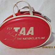 TAA Airlines Souvenir Child's Purse - Circa 1970's