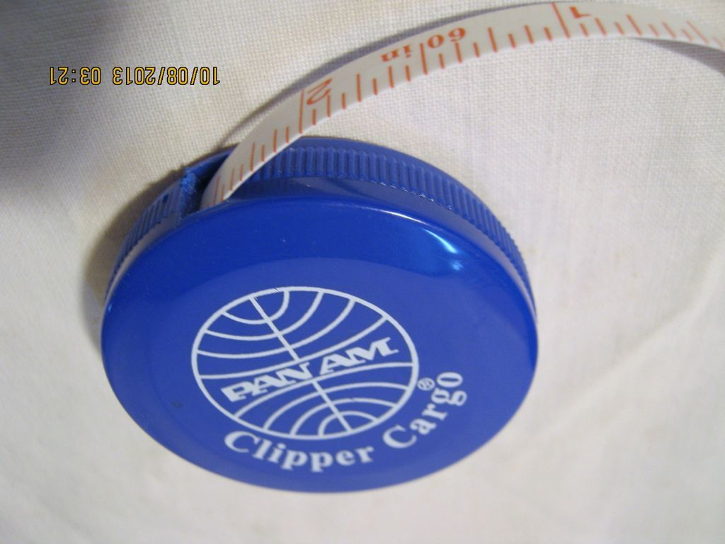 PAN AM Airlines Souvenir Tape Measure