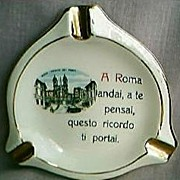 Spanish Steps Rome Ashtray
