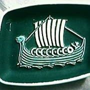 Viking Ship Ashtray