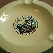 Capetown Cablecar Souvenir Ashtray