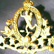 First World War Canadian Army Badge