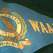 World War Two  N.Z. W.A.AC. Pennant