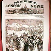 The London IIlustrated News Front Page December 23rd 1876